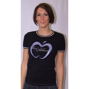 T -Shirt Buras noir Baci & Abbracci