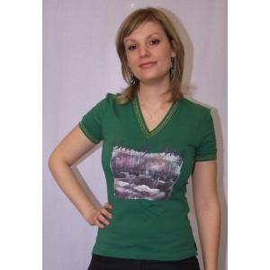 Baci & Abbracci T-shirt DT22-16 Vert