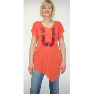 T-shirt Yogini Orange Phard
