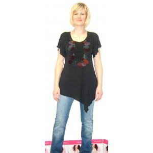 T-shirt Yogini Noir Phard